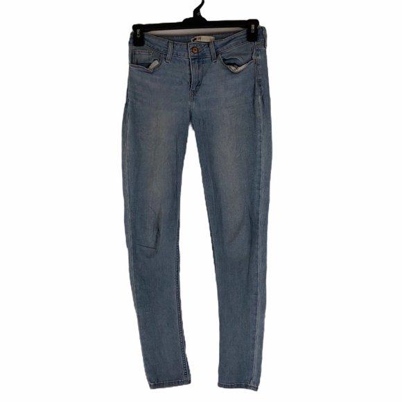 Levis Mid Rise Skinny Jegging Denim Jeans Size 29